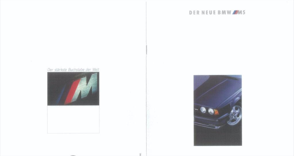 BMW M5 Brochure